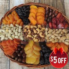 fruit and nut baskets oval fruit nut basket 64 oz dried fruit nut baskets gift