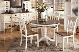 Ashley Furniture Round Dining Sets Whitesburg Round Table 4 Side Chairs