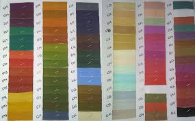 buy shade card and fabric color chart gayatri agencies