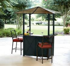 Bar Set Outdoor Patio Furniture - ty pennington style sunset beach hardtop bar with 2 bar chairs