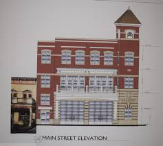 Firehouse Floor Plans by Downsized Fire Station Proposed Highlands Current