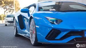 Lamborghini Aventador J Blue - lamborghini aventador s lp740 4 3 august 2017 autogespot