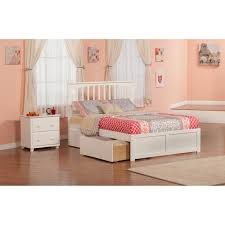 3 Piece White Bedroom Set Powell White Twin Bedroom In A Box Hayneedle