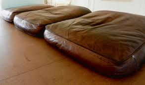 Leather Sofa Refinishing Fix Flattened Down Leather Sofa Cushions Diy Pinterest Sofa