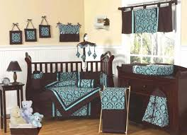 cowboy nursery bedding turquoise and brown bella baby bedding 9 pc crib set only 69 99