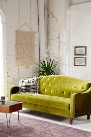 Green Velvet Tufted Sofa by Monthly Archive Outstanding Ava Velvet Tufted Sleeper Sofa Best