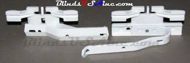 Kirsch Drapery Hardware Parts Kirsch And Graber Basic White Traverse Rod And Curtain Rod Parts
