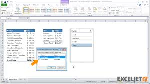 when to use pivot tables excel tutorial how to use a slicer with multiple pivot tables