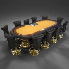 10 Person Poker Table 50 3d Max Toys Models To Download Weelii