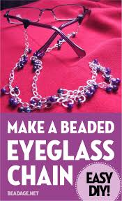 make beaded chain necklace images Make a beaded chain eyeglass holder diy beadage jpg