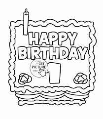 coloring pages for birthdays printables happy birthday card printable best of happy 1st birthday card