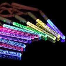 Flashing Led Glow Sticks Toys Wholesale Acrylic Bubble Flash Wand