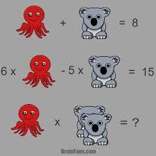 octopus u0026 koala kids riddles logic puzzle brainfans