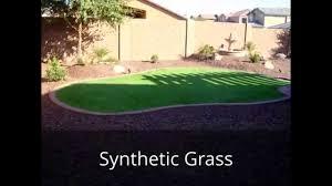 Small Backyard Landscaping Ideas Arizona by Az Living Landscape Design Backyard Remodel Youtube