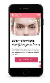 benefit brow genie