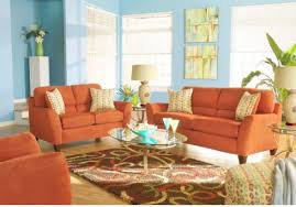Orange Living Room Decor Decoration Orange Living Room Furniture Enjoyable Ideas Burnt