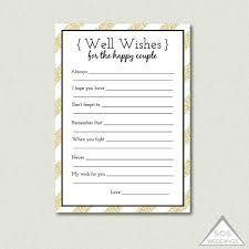 wedding well wishes cards printable well wishes bridal shower advice for the