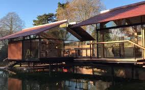 japanese inspired pergola extension in henley on thames derek