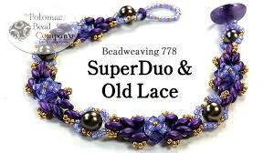 bracelet tutorials youtube images Superduo old lace quot bracelet jpg