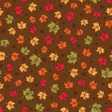 fall thanksgiving fabric maple leaves by lose cotton