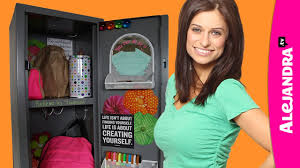 Ideas For Locker Decorations How To Organize Your Locker Locker Organization U0026 Decorating