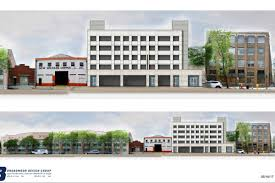 warehouse district developer files plans for large parking garage a five story 111 000 square foot parking garage is planned for the lower garden district via city of new orleans onestop