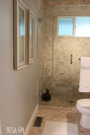 Small Bathrooms With Corner Showers Natural Small Bathroom Corner Showers Including Light Gray