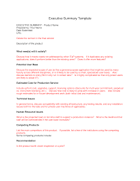Best Resume Executive Summary by Executive Summary Template Http Webdesign14 Com