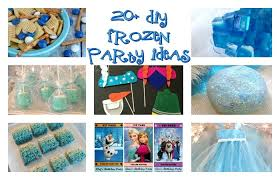 frozen party 20 diy frozen party ideas totally the bomb
