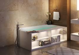 Bathroom Furniture Storage Aquatica Storage Freestanding Solid Surface Bathtub