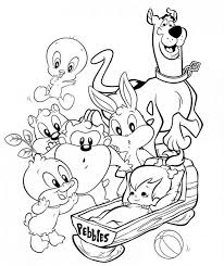 baby looney tunes 54 cartoons u2013 printable coloring pages