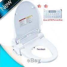 Toilet Bidet Sprayer Quoss Q7700 Electronic Aroma Twin Nozzle Toilet Bidet Sprayer Seat