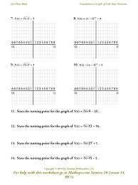 Rational Expression Worksheet Rr14 Graphs Of Cube Root Functions Mathops