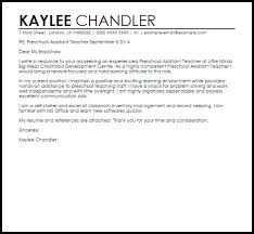 teacher assistant cover letters teaching assistant cover letter