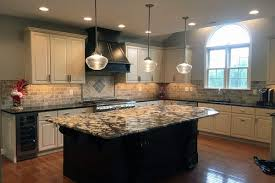 maple cabinets with black island painted kitchen cabinets project gallery by grande finale designs