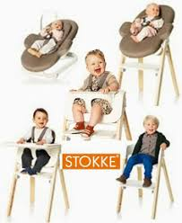 chaise volutive stokke chaise haute stokke steps cubes petits pois