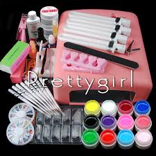 online buy wholesale full color artificial nail tip kits from