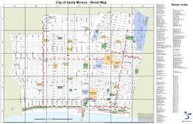 Street Map Orlando Fl by Santa Monica Maps California U S Maps Of Santa Monica