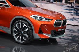 bmw 2016 paris 2016 bmw x2 concept live photos