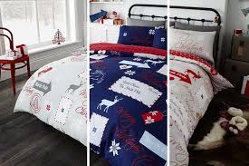 Christmas Duvet Covers Uk Christmas Themed Duvet Set 5 Designs