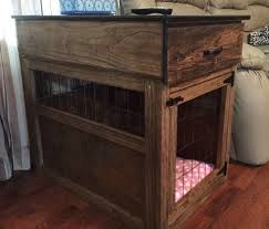 Build Wooden End Table by Best 25 Dog Crate End Table Ideas On Pinterest Diy Dog Crate