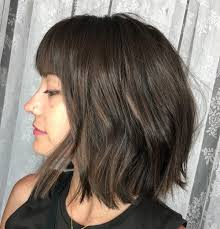 choppy bob hairstyles for thick hair 60 most beneficial haircuts for thick hair of any length