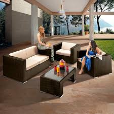 Patio Set Png Richmond Verano Sofa 4 Brown Rattan Sofa Set Leader Stores