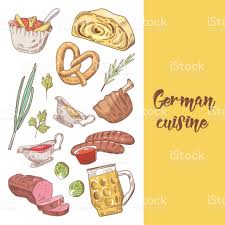 german cuisine menu german traditional food doodle germany cuisine menu