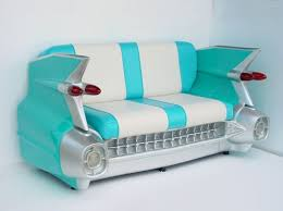 cool couch sofa design creative car cool couch green blue strip white design