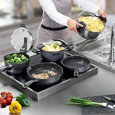 batterie de cuisine en solde stoneline batterie de cuisine 8 pièces amazon fr cuisine maison