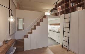 Small Apartment by Going Vertical Tiny 22 Sqm Apartment Maximizes Space In Style