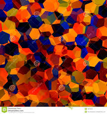 abstract colorful chaotic geometric background generative art red