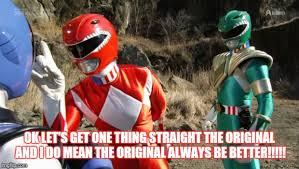Power Ranger Meme - power rangers imgflip