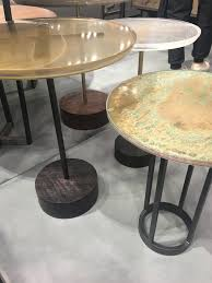 the latest trends in finishes and textures for 2017 from new view larger image nicola manning design interior design blog colour trends 2017 icff new york mixed surface tables